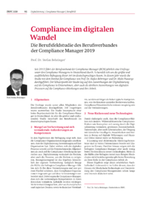 Dokument Compliance im digitalen Wandel