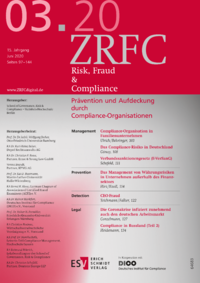Dokument Risk, Fraud & Compliance Ausgabe 03 2020