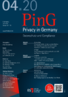 PinG Privacy in Germany Ausgabe 04 2020