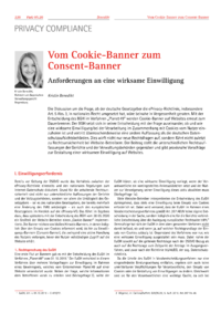 Dokument Vom Cookie-Banner zum Consent-Banner