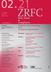 Dokument Risk, Fraud & Compliance Ausgabe 02 2021