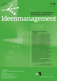 Dokument Ideenmanagement Ausgabe 01 2011