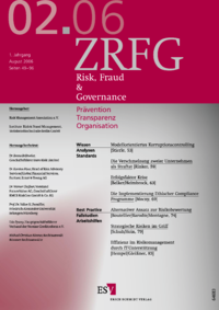 Dokument Risk, Fraud & Compliance Ausgabe 02 2006