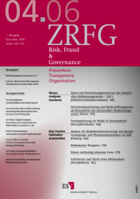 Dokument Risk, Fraud & Compliance Ausgabe 04 2006