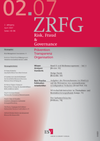 Dokument Risk, Fraud & Compliance Ausgabe 02 2007