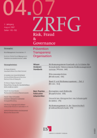 Dokument Risk, Fraud & Compliance Ausgabe 04 2007