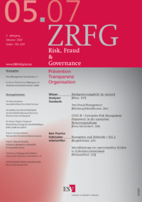 Dokument Risk, Fraud & Compliance Ausgabe 05 2007