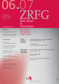 Dokument Risk, Fraud & Compliance Ausgabe 06 2007