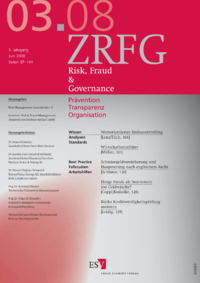 Dokument Risk, Fraud & Compliance Ausgabe 03 2008