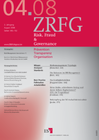 Dokument Risk, Fraud & Compliance Ausgabe 04 2008