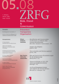 Dokument Risk, Fraud & Compliance Ausgabe 05 2008