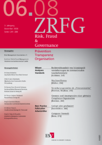 Dokument Risk, Fraud & Compliance Ausgabe 06 2008