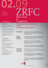 Dokument Risk, Fraud & Compliance Ausgabe 02 2009