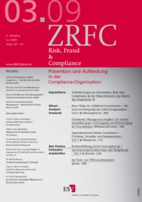 Dokument Risk, Fraud & Compliance Ausgabe 03 2009