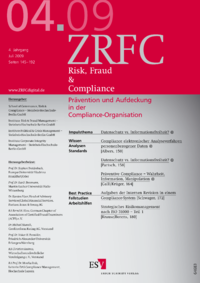 Dokument Risk, Fraud & Compliance Ausgabe 04 2009