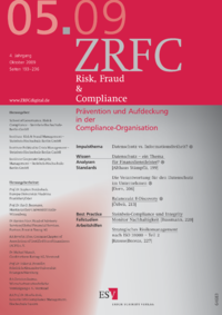 Dokument Risk, Fraud & Compliance Ausgabe 05 2009