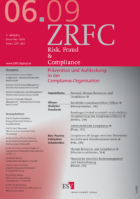Dokument Risk, Fraud & Compliance Ausgabe 06 2009