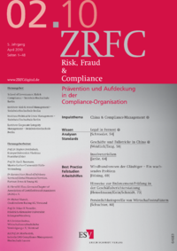 Dokument Risk, Fraud & Compliance Ausgabe 02 2010