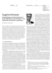 Dokument Legal in Fernost