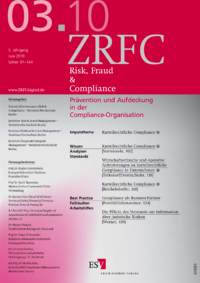 Dokument Risk, Fraud & Compliance Ausgabe 03 2010