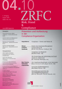 Dokument Risk, Fraud & Compliance Ausgabe 04 2010