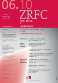 Dokument Risk, Fraud & Compliance Ausgabe 06 2010