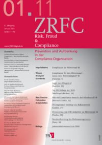 Dokument Risk, Fraud & Compliance Ausgabe 01 2011