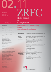 Dokument Risk, Fraud & Compliance Ausgabe 02 2011