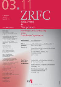 Dokument Risk, Fraud & Compliance Ausgabe 03 2011