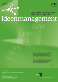 Dokument Ideenmanagement Ausgabe 02 2011