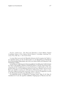 Dokument Nathan Johnstone: The Devil and Demonism in Early Modern England (Cambridge Studies in Early Modern British History).