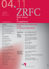 Dokument Risk, Fraud & Compliance Ausgabe 04 2011