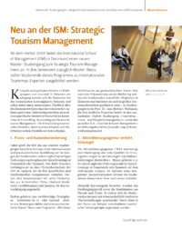 Dokument Neu an der ISM: Strategic Tourism Management