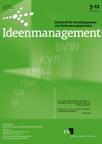 Dokument Ideenmanagement Ausgabe 03 2011