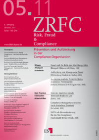 Dokument Risk, Fraud & Compliance Ausgabe 05 2011