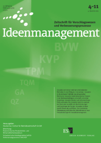 Dokument Ideenmanagement Ausgabe 04 2011
