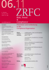 Dokument Risk, Fraud & Compliance Ausgabe 06 2011