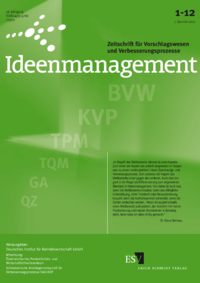 Dokument Ideenmanagement Ausgabe 01 2012