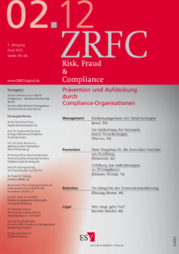 Dokument Risk, Fraud & Compliance Ausgabe 02 2012