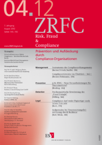 Dokument Risk, Fraud & Compliance Ausgabe 04 2012