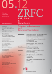 Dokument Risk, Fraud & Compliance Ausgabe 05 2012