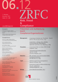 Dokument Risk, Fraud & Compliance Ausgabe 06 2012