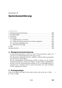 Dokument Quotenkonsolidierung