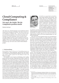 Dokument Cloud-Computing & Compliance