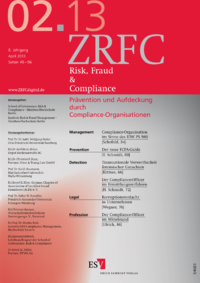 Dokument Risk, Fraud & Compliance Ausgabe 02 2013