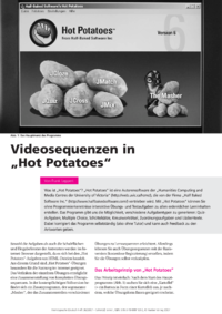 "Dokument Videosequenzen in ""Hot Potatoes"""