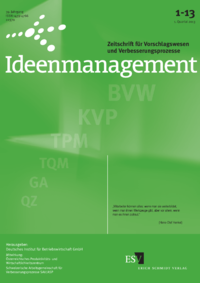Dokument Ideenmanagement Ausgabe 01 2013
