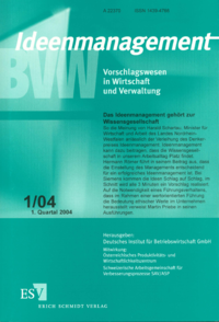 Dokument Ideenmanagement Ausgabe 01 2004