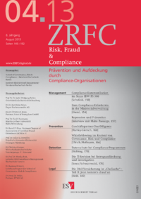 Dokument Risk, Fraud & Compliance Ausgabe 04 2013
