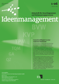 Dokument Ideenmanagement Ausgabe 01 2006